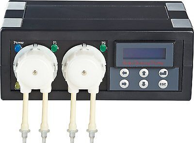 Jebao Jecod DP-2 Progammable Aquarium Dosing Pump for Reef Elements - 2 Channels