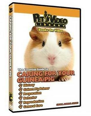 Pet Video Caring For Your Guinea Pig Dvd