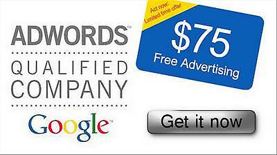 $100 USD Google Adwords Promo 2017 USA or WORLD WIDE $100 Advertising Credit!