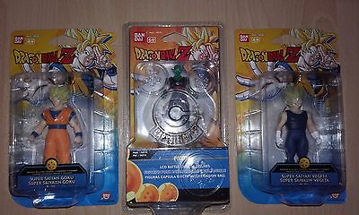 lot de 3 figurines dragon ball z neuves
