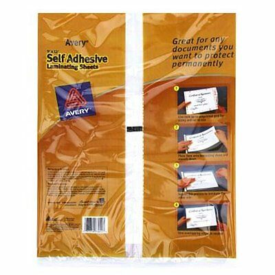 Avery Self-Adhesive Laminating Sheets, 9 x 12 Inches, Pack of 2 73602