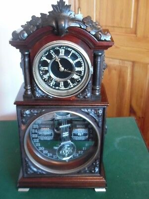 usa made athica calender mantle clock