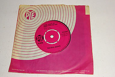 """The Soul Agents I Just Want To Make Love To You 1964 Pye Uk 7"""""""