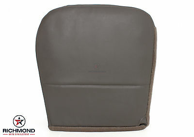 2010 Ford F250 F350 F450 XL Work Truck -Driver Side Bottom Vinyl Seat Cover Gray