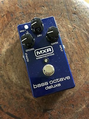 USED once * MXR Bass Octave Deluxe
