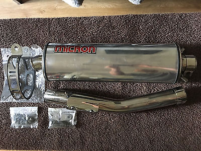 Micron slip-on can for CBR600F-4