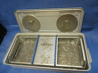 "CASE MEDICAL FULL SIZE LAPAROSCOPIC STERILIZATION CASE, 24"" x 11.5"" x 6"""