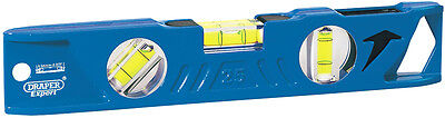 Genuine DRAPER Side View Boat Spirit Level with Magnetic Base (250mm) | 69550