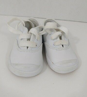 Keds Toddler Shoes White Sz 3 Sneakers Tennis Shoe Boy Girl Infant Baby Kids