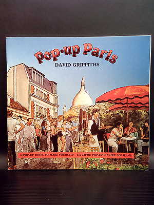 NEW - Vintage POP-UP PARIS by David Griffiths - pop-up book to make yourself