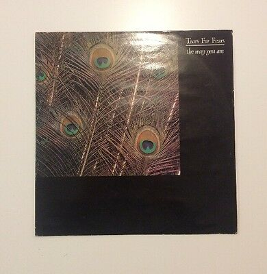 """Tears For Fears - The Way You Are - 12"""" Vinyl Record - (1983)"""