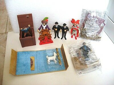 7 FIGURINES TINTIN  MAC DO donald's HAPPY MEAL FIGURES  g6