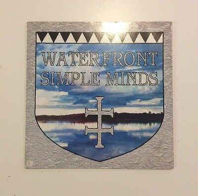 """Simple Minds - Waterfront - 12"""" Vinyl Record - (1983)"""