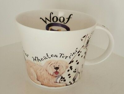 Walkies Dog Fine Bone China Mug. Roy Kirkham