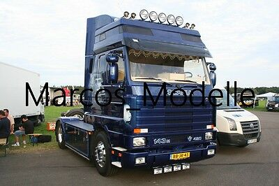 Truck Photo - Lkw Foto Scania 143 V8 Holland blau - blue  /34