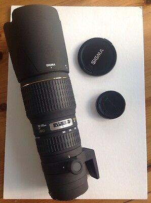 Sigma EX DG HSM 100-300mm f/4.0 APO Lens Sigma SA Mount Fits SD1 Quattro REDUCED