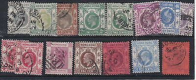 F288: Hong Kong Victoria- George V small Assortment mainly used