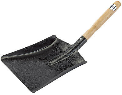 Genuine DRAPER Dust Pan  - Solid ash handle - Pressed steel | 15226