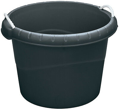 Genuine DRAPER 45L Bucket with Rope Handles - Black | 22309