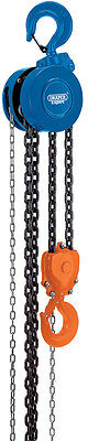 Genuine DRAPER Expert 5 tonne Manual Chain Hoist (Chain Block) | 26186