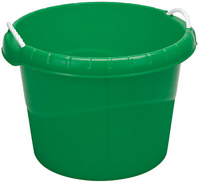 Genuine DRAPER 45L Bucket with Rope Handles - Green | 22311