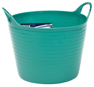 Genuine DRAPER 15L Multi Purpose Flexible Bucket - Green | 22303