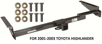 "2001-2003 Toyota Highlander Trailer Hitch 2"" Tow Receiver Drawtite Class Iii New"