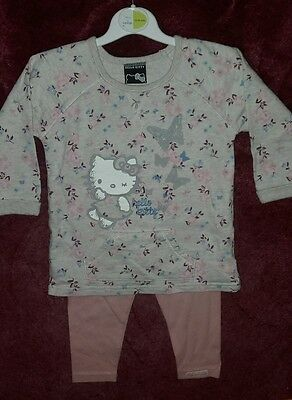 Baby girls 12 - 18 months hello kitty top & leggings set