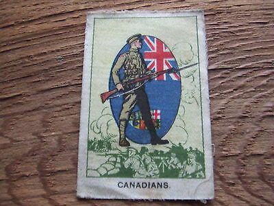 Our Soldier Boys.  Canadians.    Rare.   Issued By My Weekly In 1915.   .
