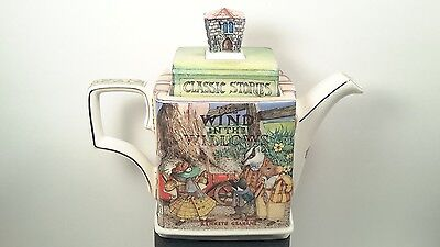 James Sadler WIND IN THE WILLOWS Classic Children's Stories Teapot