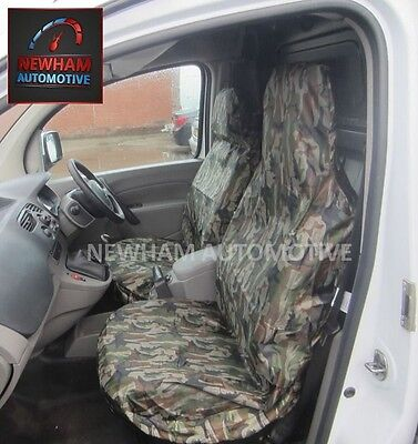 Car Van Mpv 4X4 Camouflage Dpm Camo Heavy Duty Waterproof Seat Covers 1+1