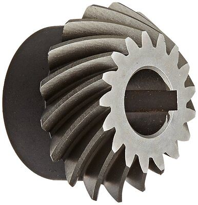 "Boston Gear SH102-P Spiral Bevel Pinion Gear, 2:1 Ratio, 0.625"" Bore, 10 Pitch"
