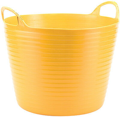 Genuine DRAPER 28L Multi Purpose Flexible Bucket - Yellow | 49101