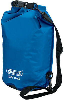 Genuine DRAPER 20L Dry Bag  - Water-resistant polyester/PVC - Watertight | 64760