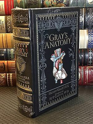 GRAY'S ANATOMY Leatherbound Collectible Book, Brand New & Sealed