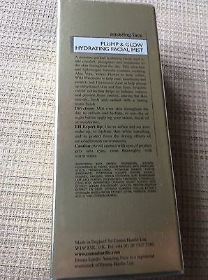 Emma Hardie Plump & Glow Hydrating Facial Mist 90ML New & Sealed  (£36 RRP)