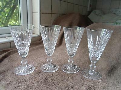 Set of Four Waterford Crystal Lismore Glasses