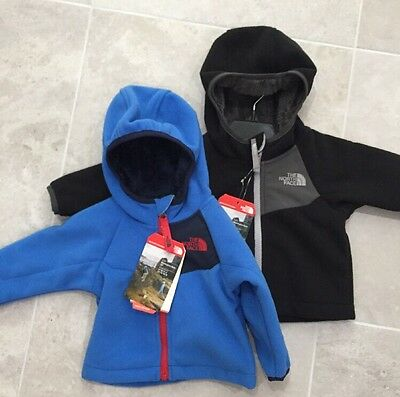 The North Face Infant Toddler Boys Chimborazo Hoodie Fleece Jacket Coat  NWT $65
