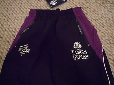 Scotland Rugby Training Bottoms Classic Cotton Oxford Famous Grouse