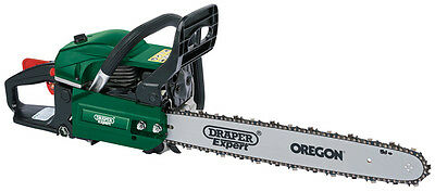 DRAPER Expert 45cc 450mm Petrol Chainsaw with Oregon Chain and Bar | 75186