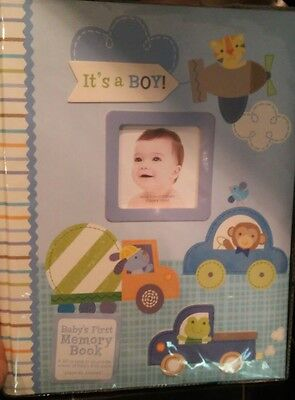 Baby book for baby boy, infant to 5yrs to school start