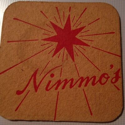Very OLD *RARE* Nimmo's Beer Mat / Coaster *Vintage/Antique*