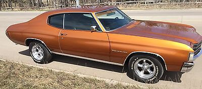 "Chevrolet: Chevelle CHEVELLE MALIBU ONLY 65,000 MILES!  ""NUMBERS MATCHING""  MINT INSIDE AND OUT! IN CALGARY ALBERTA!"