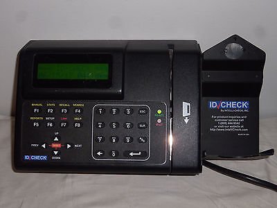 IntelliCheck TA-1400 ID Check Identification Verification System IDCheck