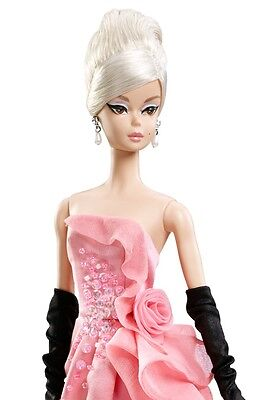 Glam Gown Silkstone Barbie Fan Club Collector Exclusive Gorgeous Pink Formal