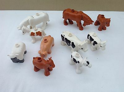 Lego Duplo   Farm Animals , Horses , Cows , Sheep And Goat