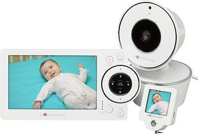 "Project Nursery - Video Baby Monitor with 5"" Screen - White"