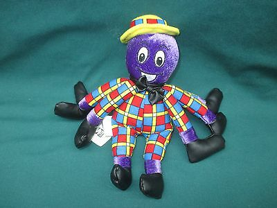 "HIT Entertainment Spin Master THE WIGGLES 8"" Henry Octopus Beanbag Plush GREAT"