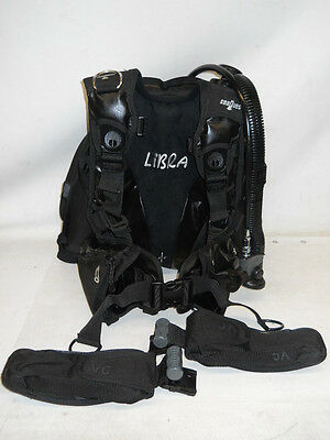 SeaQuest Libra BCD w/ AirSource, Small, Scuba Diving back inflation s sm bc