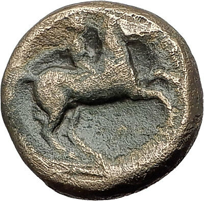Philip II 359BC Olympic Games HORSE Race WIN Macedonia Ancient Greek Coin i62237